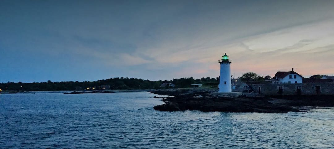 Lighthouse in Portmouth, NH